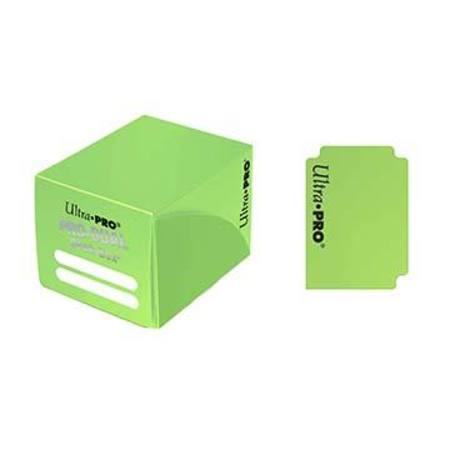 Ultra Pro Deck Box: 120CT ProDual - Small Size - Light Green
