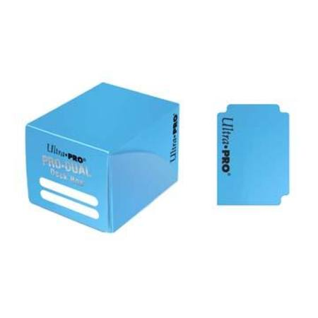 Ultra Pro Deck Box: 120CT ProDual - Small Size - Light Blue