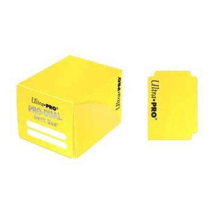 Ultra Pro Deck Box: 120CT ProDual - Small Size - Yellow
