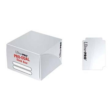 Ultra Pro Deck Box: 180CT ProDual - White
