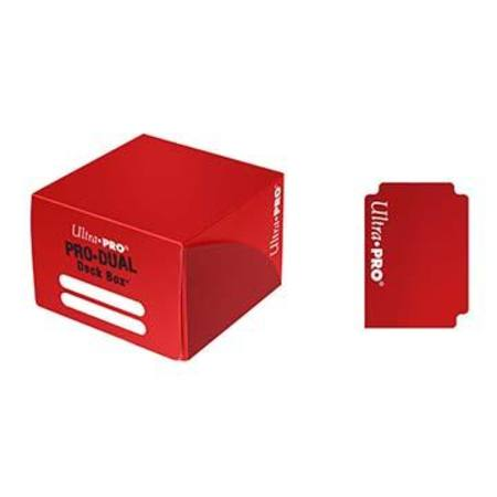 Ultra Pro Deck Box: 180CT ProDual - Red