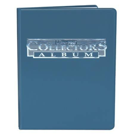 Ultra Pro 4 Pocket Collectors Portfolio - Blue