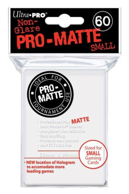 Ultra Pro Pro-Matte White (60CT) YuGiOh Size Sleeves