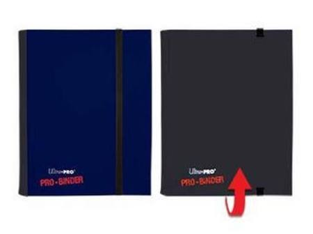 Ultra Pro 4 Pocket PRO-Binder Blue/Black