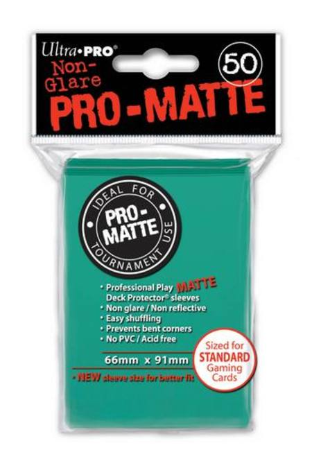Ultra Pro Pro-Matte Aqua (50CT) Regular Size Sleeves