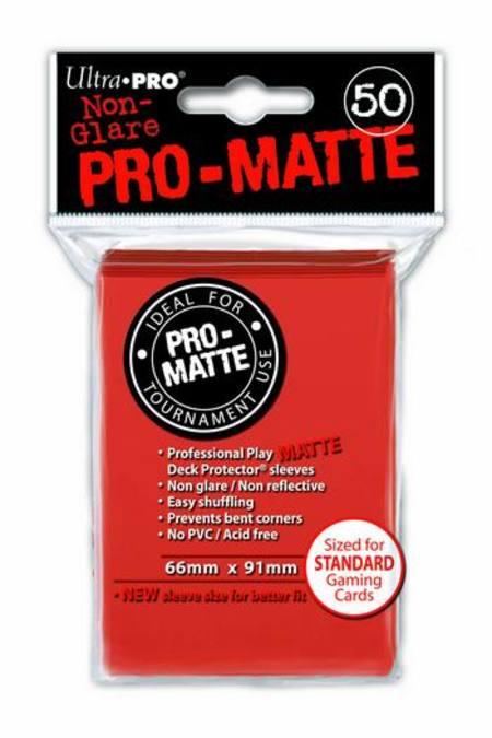 Ultra Pro Pro-Matte Peach (50CT) Regular Size Sleeves