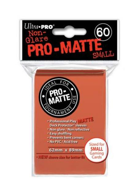 Ultra Pro Pro-Matte Peach (60CT) YuGiOh Size Sleeves
