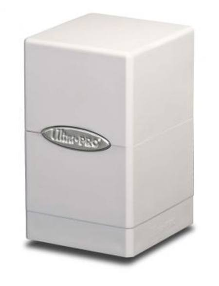 Ultra Pro White Satin Tower Deck Box