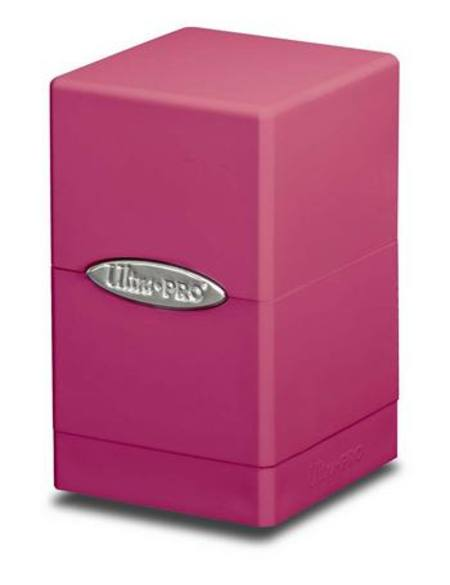 Ultra Pro Bright Pink Satin Tower Deck Box