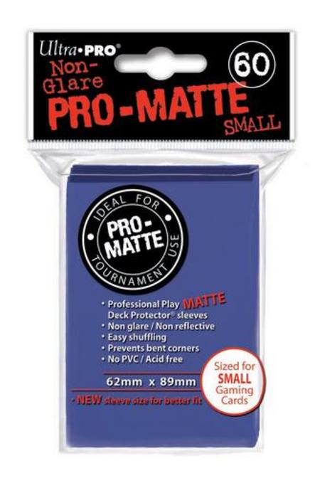 Ultra Pro Pro-Matte Blue (60CT) YuGiOh Size Sleeves