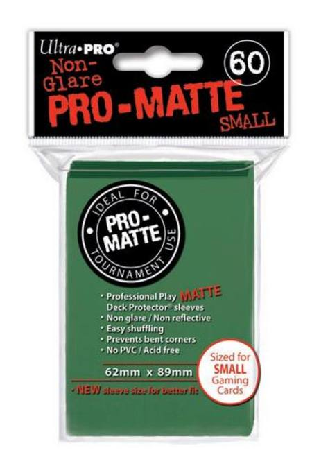 Ultra Pro Pro-Matte Green (60CT) YuGiOh Size Sleeves