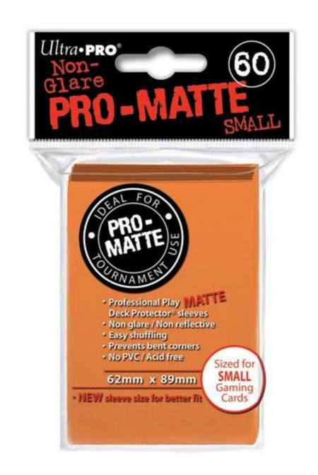 Ultra Pro Pro-Matte Orange (60CT) YuGiOh Size Sleeves