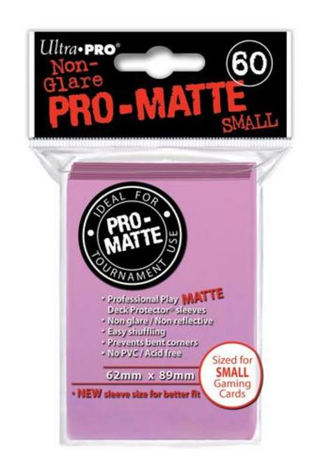 Ultra Pro Pro-Matte Pink (60CT) YuGiOh Size Sleeves