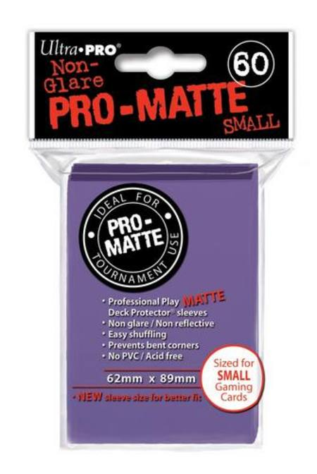 Ultra Pro Pro-Matte Purple (60CT) YuGiOh Size Sleeves