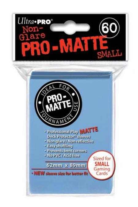 Ultra Pro Pro-Matte Light Blue (60CT) YuGiOh Size Sleeves