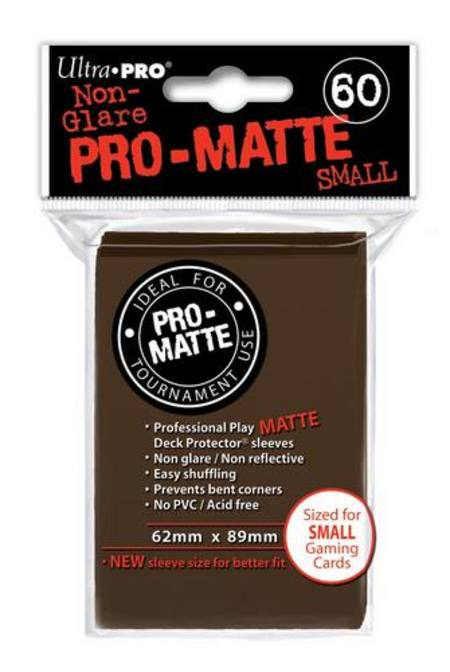 Ultra Pro Pro-Matte Brown (60CT) YuGiOh Size Sleeves