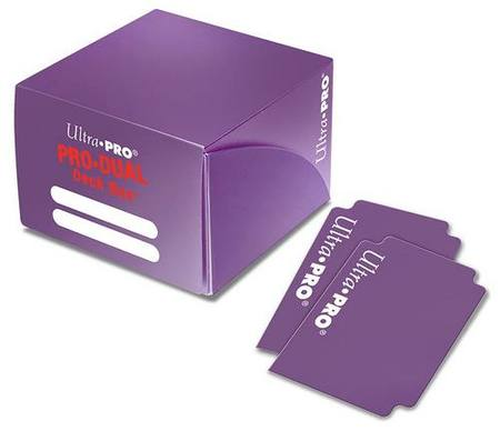 Ultra Pro Deck Box: 180CT ProDual - Purple