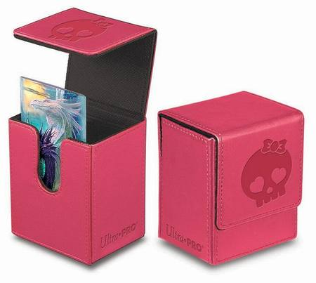 Ultra Pro Magnetic Flip Top Deck Box - Galaxy Pink