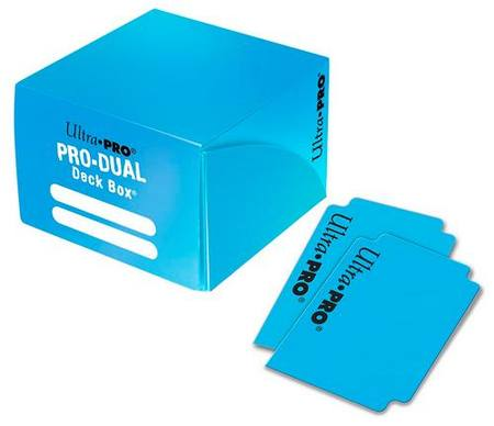 Ultra Pro Deck Box: 180CT ProDual - Light Blue