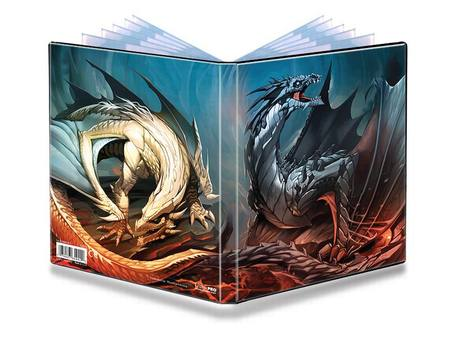 Ultra Pro 4 Pocket Shadoote & Dayoote Dragons Portfolio for small sized cards