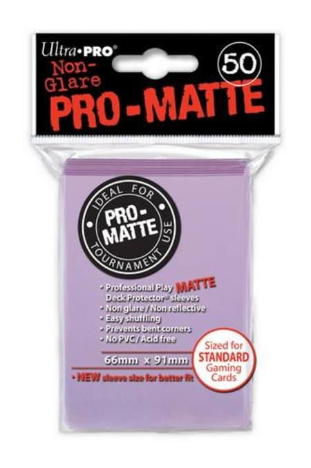 Ultra Pro Pro-Matte Lilac (50CT) Regular Size Sleeves