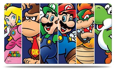 Ultra Pro Super Mario: Mario & Friends Play Mat with Play Mat Tube