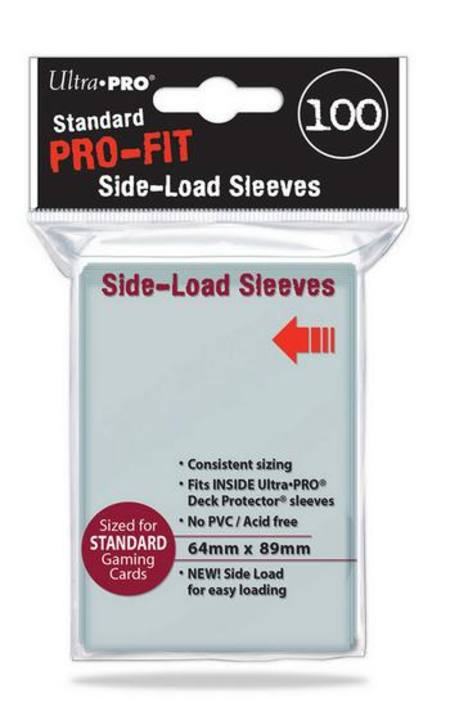 Ultra Pro Pro-Fit (100CT) Sideloading Regular Size Sleeves