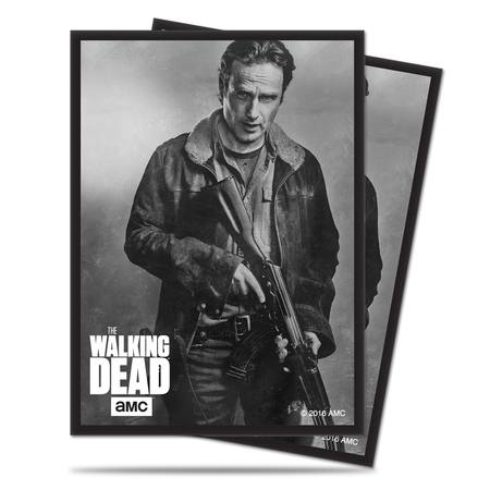 Ultra Pro The Walking Dead Deck Protector Sleeves - Rick 50ct