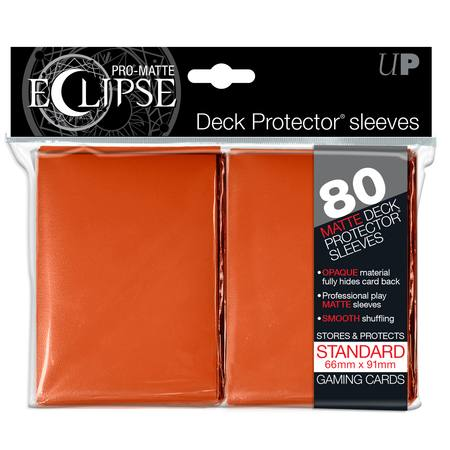 Ultra Pro Pro-Matte Eclipse Large (80CT) Orange Sleeves