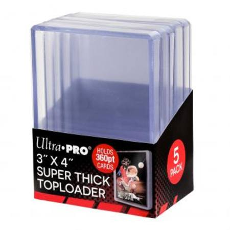 Ultra Pro 360pt Super Thick Top Loaders (5CT) Pack