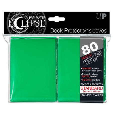 Ultra Pro Pro-Matte Eclipse Large (80CT) Green Sleeves