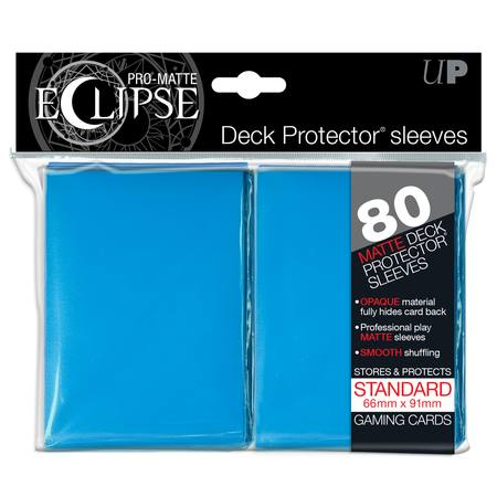 Ultra Pro Pro-Matte Eclipse Large (80CT) Light Blue Sleeves
