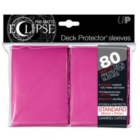 Ultra Pro Pro-Matte Eclipse Large (80CT) Pink Sleeves