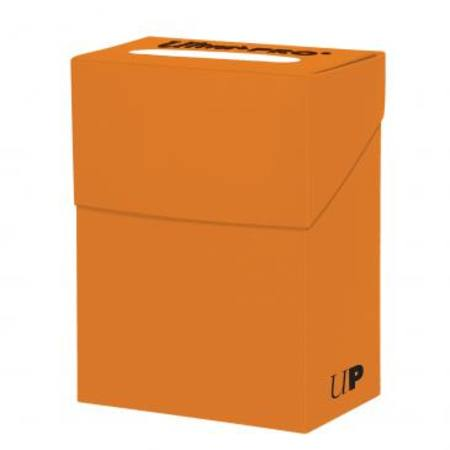 Ultra Pro Pumpkin Orange Deck Box
