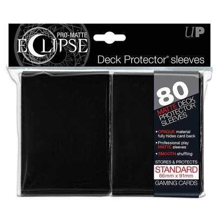 Ultra Pro Pro-Matte Eclipse Large (80CT) Black Sleeves