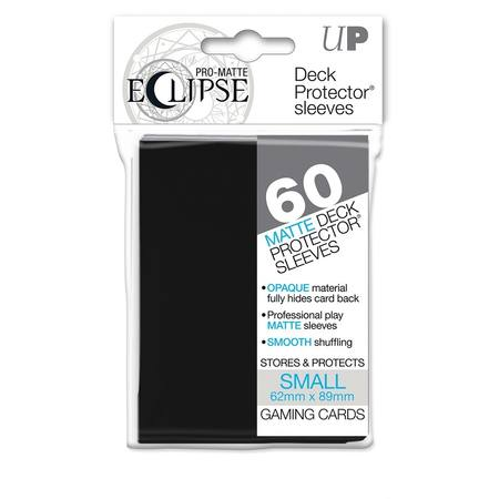Ultra Pro YuGiOh Pro-Matte Eclipse (60CT) Black Sleeves