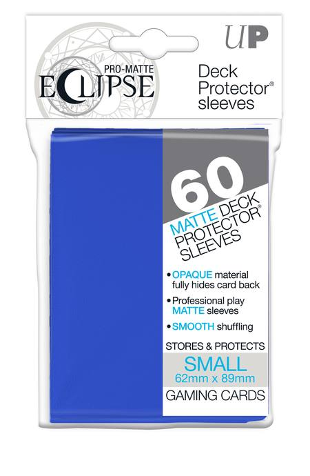 Ultra Pro YuGiOh PRO-Matte Eclipse Pacific Blue (60CT) Sleeves