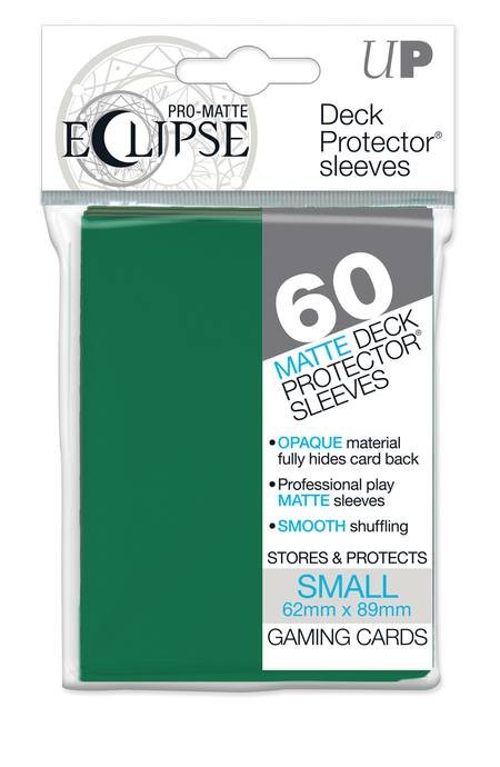 Ultra Pro YuGiOh PRO-Matte Eclipse (60CT) Forest Green Sleeves