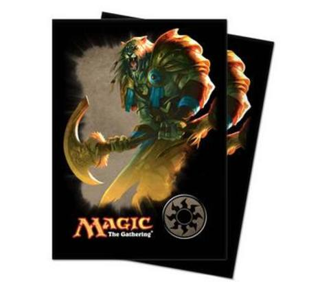 Ultra Pro Magic Deck Protectors - Mana 4 Ajani Art Pic