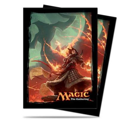 Ultra Pro Magic Deck Protectors - Fate Reforged Sarkhan Vol Art Pic