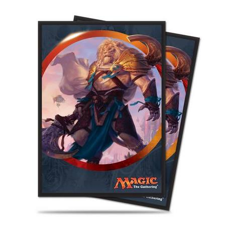 Ultra Pro Magic Aether Revolt: Ajani Unyielding Sleeves