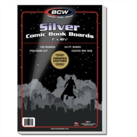 BCW Silver Age Backing Boards