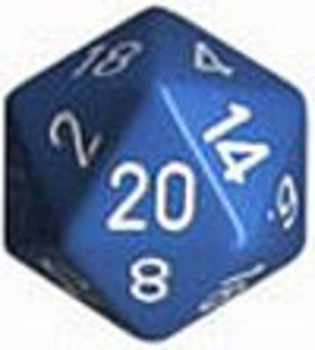 Opaque Jumbo 34mm D20 Lt Blue with White