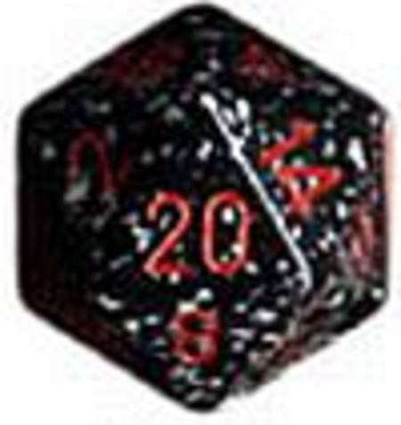 Speckled Jumbo 34mm D20 Space