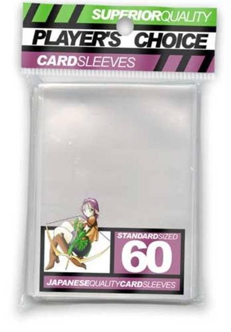 Player's Choice Clear Sleeves