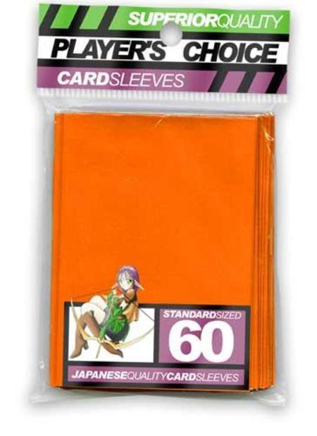 Player's Choice Orange Sleeves