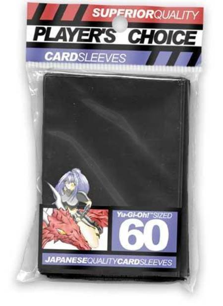 Player's Choice Yu-Gi-Oh! Black Sleeves