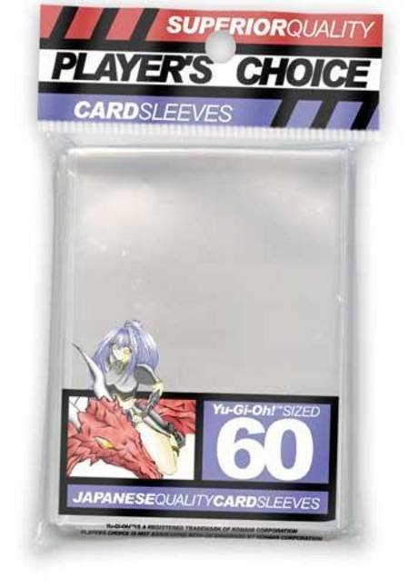 Player's Choice Yu-Gi-Oh! Clear Sleeves