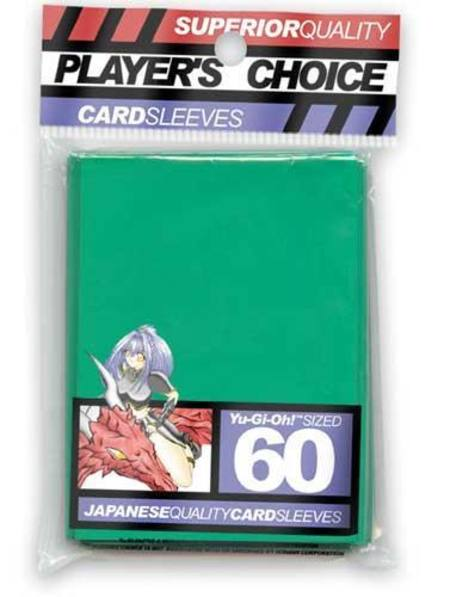 Player's Choice Yu-Gi-Oh! Green Sleeves