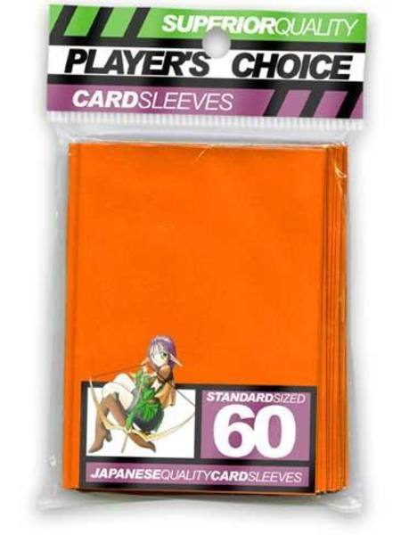 Player's Choice Yu-Gi-Oh! Orange Sleeves